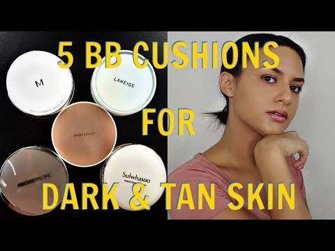Video 5 BB Cushions For Dark & Tan Skin | Innisfree & More! | Beauty Review download in MP3, 3GP, MP4, WEBM, AVI, FLV January 2017