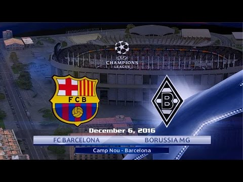 Barcelona vs Borussia Mönchengladbach 4-0 All Goals & Highlights 6/12/2016 | UCL 2016/2017