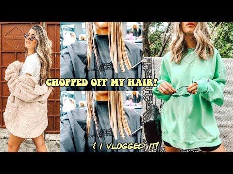 Short haircuts - I CHOPPED MY HAIR  Long to Short Hair Transformation!