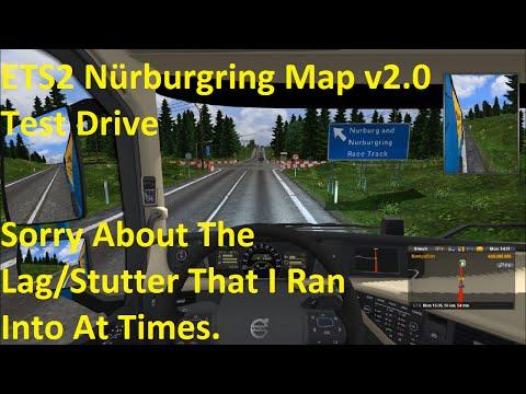 ETS2 Nürburgring Map v2.0 Testing