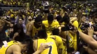 Tigers celebrate UAAP finals game 2 win