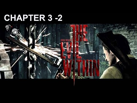 The Evil Within Walkthrough Chapter 3 -2 Chainsaw (Gameplay PS4)