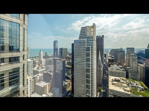 A 57th-floor 2-bedroom, 2-bath at the Loop's lavish OneEleven tower
