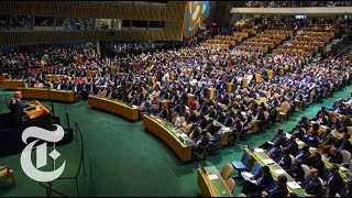 Trump's U.N. Speech Targets North Korea, Iran and Venezuela