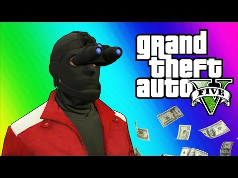 GTA 5 Heists #2 – Invisibility Glitch, Hydra Jet, Humane Labs! (GTA 5 Online Funny Moments) [Part 2]