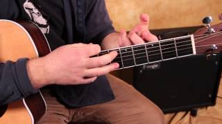 """Acoustic Blues Guitar Lesson - How to Play """"Nobody Knows You When You're Down and Out"""""""