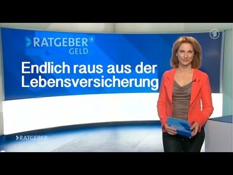 Endlich raus aus der Lebensversicherung - ARD Ratgeber Geld
