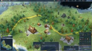 A game of Northgard 3v3 Multiplayer. Everyone selected a Random clan and Random team. I am playing Fenrir (Wolf) Clan which ...