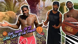 My Brother Jinx & His Friend Challenged Me To A Epic Game Of 21!