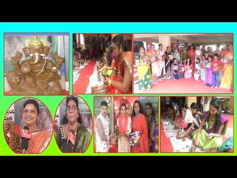 Vinayaka Idol Making & Distribution By V Team in Visakhapatnam,Vizagvision...