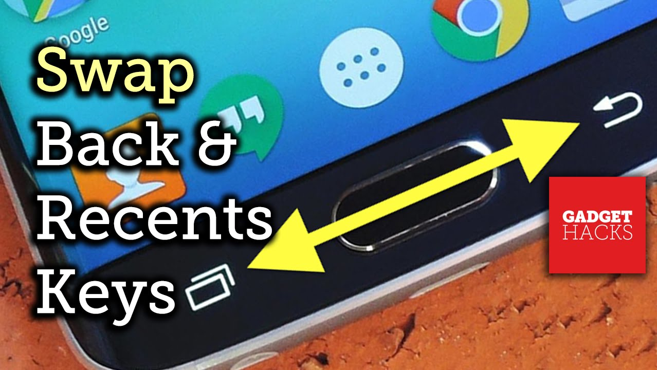 Descargar Swap the Back & Recent Apps Buttons on Your Samsung Galaxy S6 [How-To] para Celular  #Android