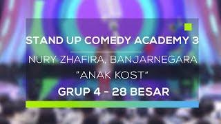 Video Stand Up Comedy Academy 3 : Nury Zhafira, Banjarnegara - Anak Kost MP3, 3GP, MP4, WEBM, AVI, FLV Februari 2018