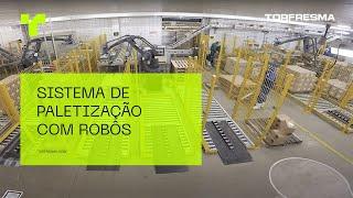 Sistema de Paletização Robotizado - Presunto