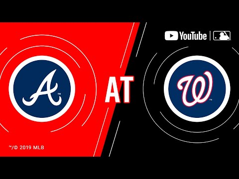 Video: Braves at Nationals | MLB Game of the Week Live on YouTube