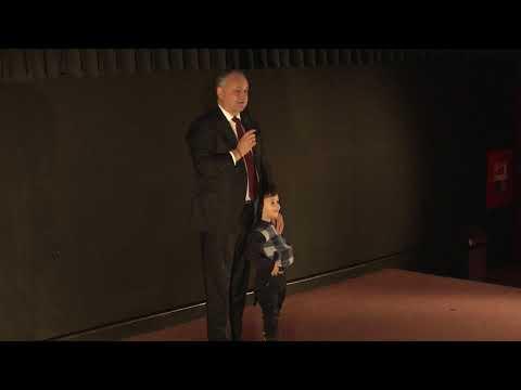 Глава государства посетил премьеру документального фильма о Штефане Великом