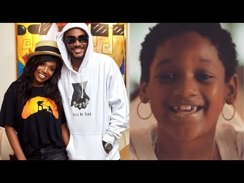 Olivia, daughter of singer 2face and actress Annie Idibia has clocked seven years old.