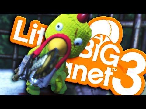 Video LittleBigPlanet 3 - CRAZY CHICKEN KILLER!  - Horror Parody  (Little Big Planet 3) download in MP3, 3GP, MP4, WEBM, AVI, FLV January 2017