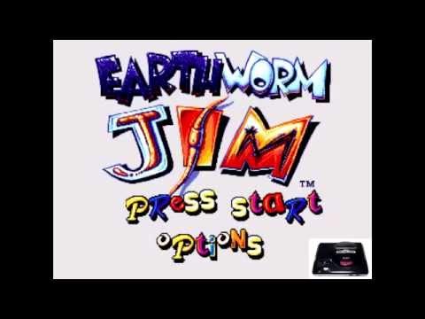 Earthworm Jim [OST] - Buttville - The Queen's Lair [Sega Genesis Music VA6]