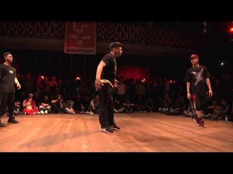 Soul Navi VS Jinjo Crew [3on3 BREAKING FINAL] ▷ FLOOR WARS 2018 ◁  Denmark ⓒ BBoy World