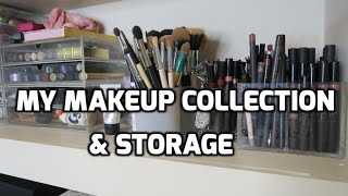 My Makeup Collection & Storage | Danielle Peazer
