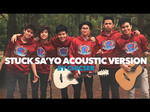 Acoustic Music - Acoustic Version Of Stuck Sayo by Chicser. Give it a thumbs up if you enjoyed the video! And comment down below kung kanino stuck ang puso niyo! And if you saw the secret message! TeamGVO...
