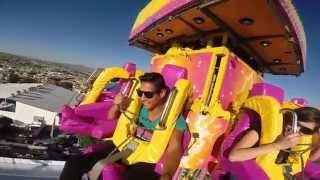 Video SUPER SHOT JUEGO MECANICO FIESTAS DE OCTUBRE  HD MP3, 3GP, MP4, WEBM, AVI, FLV Juli 2018