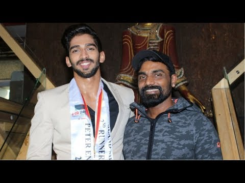 Mr India 2nd Runner Up Pavan Rao Felicitated By Remo D'souza