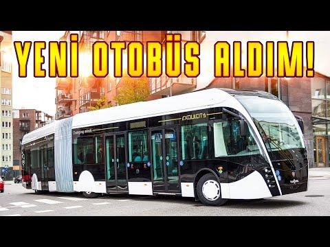 YENİ OTOBÜS ALDIM! | Bus Simulator 18