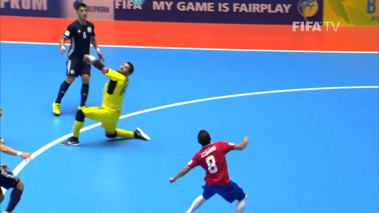 Match 22: Costa Rica v Kazakhstan – FIFA Futsal World Cup 2016