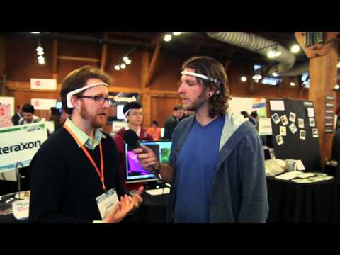 InteraXon At TechCrunch Disrupt 2012 #tcdisrupt