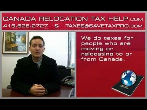 Canada Relocation Tax Help.com   Non-Resident, Rental Property, Canadian Income Tax Return Services