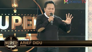 Video Arief Didu: Tiga Kata Sakti (SUPER Stand Up Seru eps 202) MP3, 3GP, MP4, WEBM, AVI, FLV Januari 2019