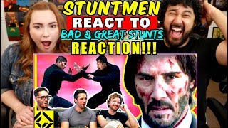 STUNTMEN React To Bad & Great HOLLYWOOD STUNTS 3 - REACTION!!! by The Reel Rejects