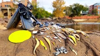 Searching for River Treasure! - Knife, $40 Swimbait, 4 Sunglasses, Fishing Tackle and MORE!
