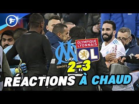 Bagarre générale OM-OL : Marseille en colère, Lyon charrie (видео)