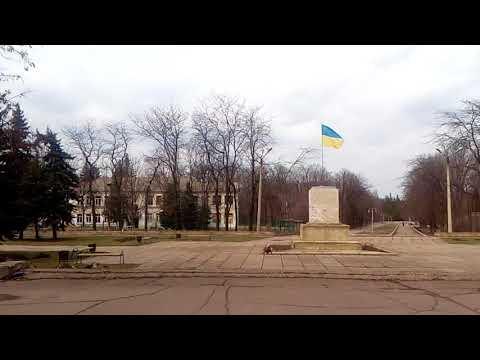 Красногоровка( ато)линия фронтажизнь города)5 апреля 2018 г. - DomaVideo.Ru