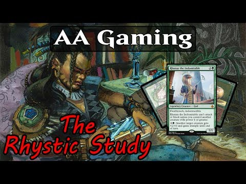 The Rhystic Study: Episode #4 - Rhonas The Indomitable Deck Tech - Mono Green Control???