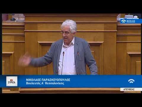 Ν. Παρασκευόπουλος: Η αποτελεσματικότητα δεν είναι διαζευκτική με τη δημοκρατία