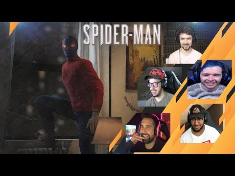 Gamers Reactions To Cook And Run | Marvel's Spider-Man