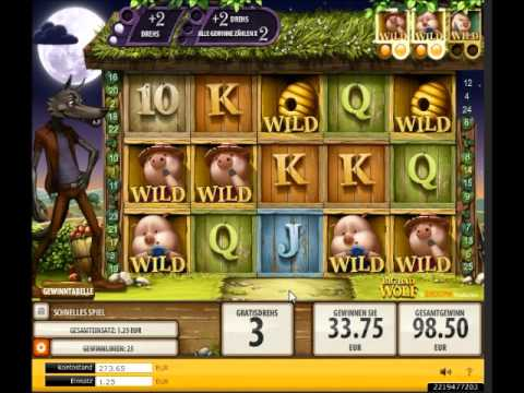Big Bad Wolf Slot - Mega Combo with Freespins  - Big Win