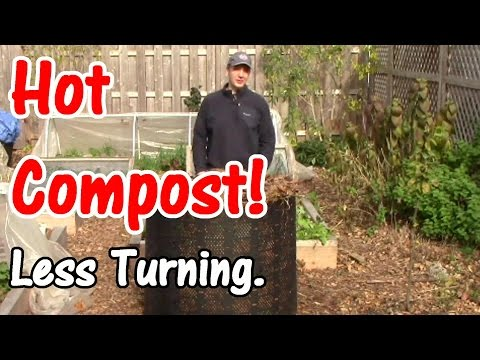 2 Min. Tip: Heat up Compost without Turning It (Quick & Easy!)