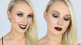 Ultra Smokey Green Eyes + Dark Chocolate Lips! | Lauren Curtis by Lauren Curtis