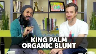 Smoking Blunts with King Palm Wraps by 420 Science Club