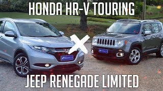Comparativo: Honda HR-V Touring x Jeep Renegade Li