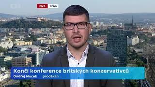 Končí konference britských Konzervativců
