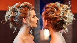 прически на длинные волосы с накладными валиками