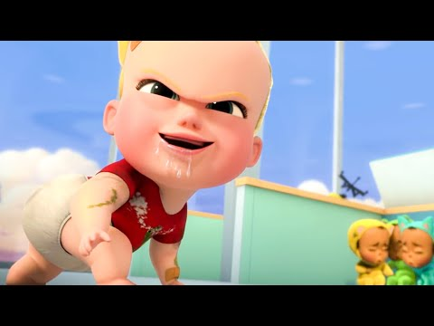 Crazy Cookie Baby Scene - THE BOSS BABY: Back in Business (2018)