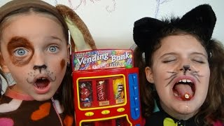 Bad Baby Kitty Victoria Puppy Annabelle Candy Machine Bloody Tooth Toy Freaks Hidden Egg