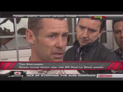 Tom Kristensen & Allan McNish Interviewed on The Racing Insiders