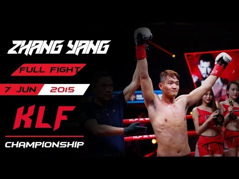 Kickboxing: Zhang Yang Vs. Liu Lei FULL FIGHT-2015